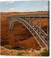 Glenn Dam Bridge Canvas Print