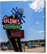 Glenns Bakery Canvas Print