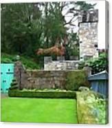 Glenveagh Garden Gate Canvas Print