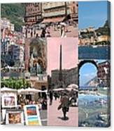 Glimpses Of Italy Canvas Print