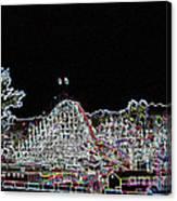 glo 248- Rollercoaster Canvas Print