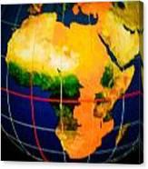 Globe Canvas Print