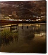 Gloomy Waters Canvas Print