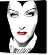 Gloria Swanson Malefica Canvas Print