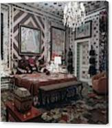 Gloria Vanderbilt's Bedroom Canvas Print