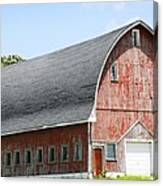 Glorious Barn Canvas Print