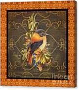 Glorious Birds-a2 Canvas Print