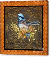 Glorious Birds-b2 Canvas Print