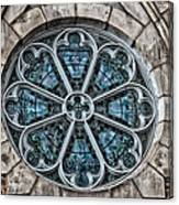 Glorious Church Stained Glass Canvas Print