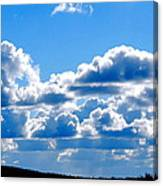 Glorious Clouds Canvas Print
