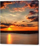 Glorious Rays Canvas Print