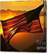 Glory At Sunset Canvas Print