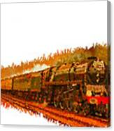 Glory Train To Heaven Canvas Print