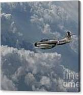Gloster Meteor  Canvas Print