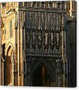 Gloucester Cathedral Entrance Canvas Print