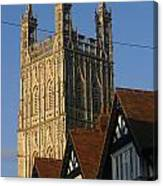 Gloucester Cathedral Spire Canvas Print