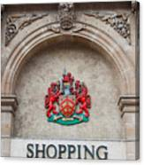 Gloucester Coat Of Arms Canvas Print