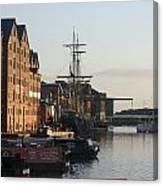 Gloucester Docks 1 Canvas Print