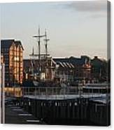 Gloucester Docks 3 Canvas Print