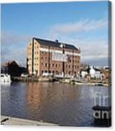Gloucester Historic Docks 3 Canvas Print