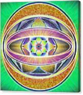 Glow Sphere Delta Canvas Print