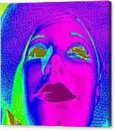 Glowing Gigi Canvas Print