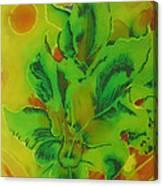 Glowing Kanas Canvas Print