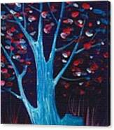 Glowing Night Canvas Print