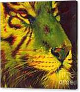 Glowing Tiger Canvas Print