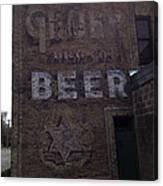 Gluek Beer Canvas Print