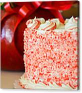Gluten Free Peppermint Cake Canvas Print