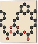 Glycerol Phenylbutyrate Drug Molecule Canvas Print