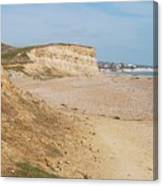 Glyne Gap Cliffs In Sussex Canvas Print