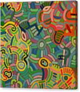 Glyph One Canvas Print