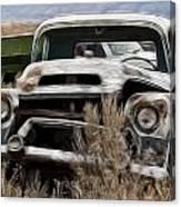 G M Old Pickup Canvas Print