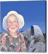Gma At Halfdome Canvas Print