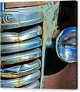 Gmc Truck Grille Emblem Canvas Print