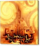 Gnarly Campfire Canvas Print