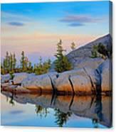 Gnome Tarn Rocks Canvas Print