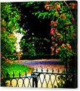 Go And Smell The Roses Canvas Print