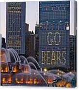 Go Bears Canvas Print