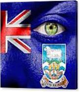 Go Falkland Islands Canvas Print