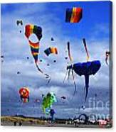 Go Fly A Kite 4 Canvas Print