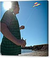 Go Fly A Kite Canvas Print