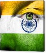 Go India Canvas Print