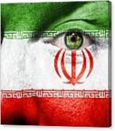 Go Iran Canvas Print