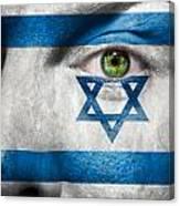 Go Israel Canvas Print