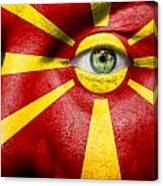 Go Macedonia Canvas Print