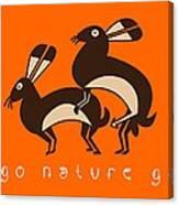 Go Nature Go Canvas Print