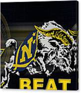 Go Navy Beat Army Canvas Print